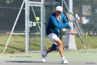Sam Shuster of Woodbridge Tennis Club on court