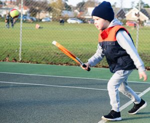 Mini Red tennis session at Woodbridge Tennis Club
