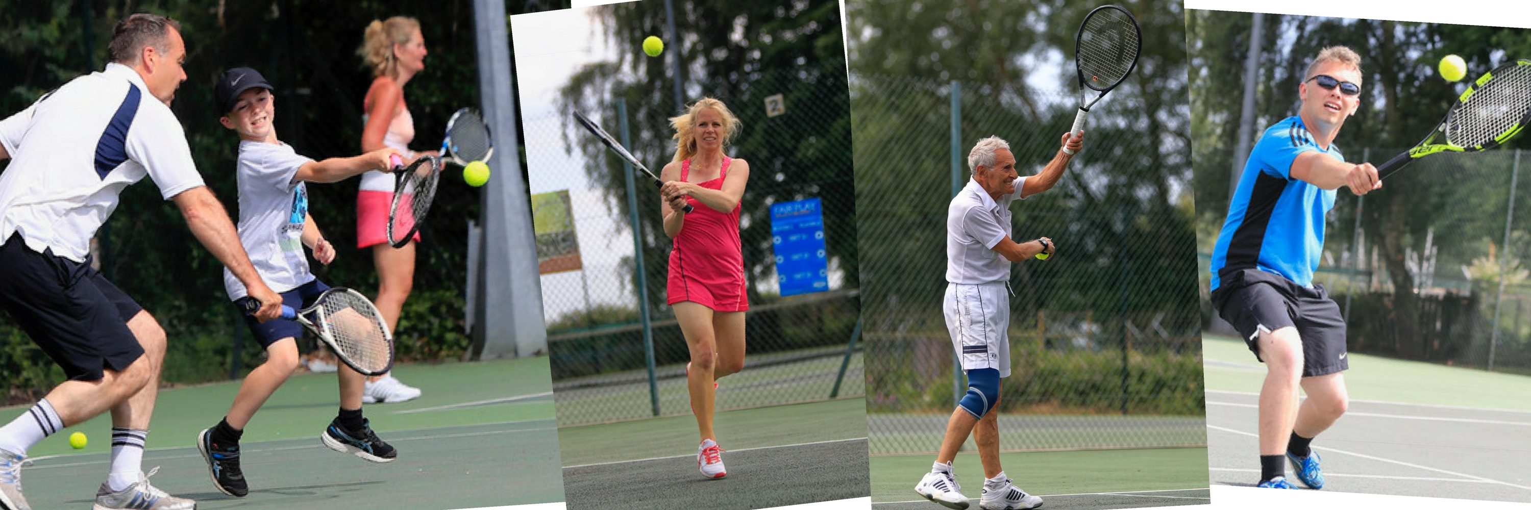 Woodbridge Tennis club open to all players