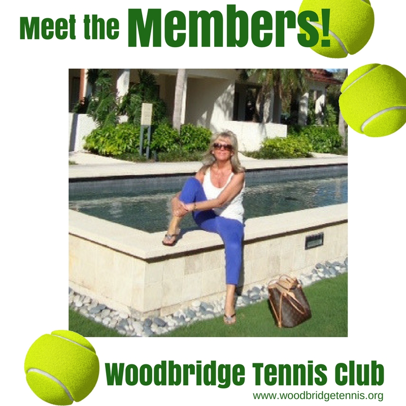Woodbridge Tennis Club - meet the member Joanna Slingo