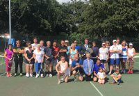 Dick McDonald Tournament June 2018 at Woodbridge Tennis Club