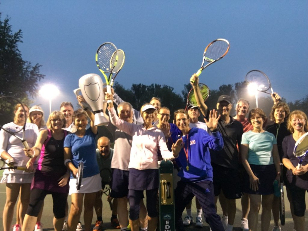 Woodbridge Tennis Club celebrates the French Open