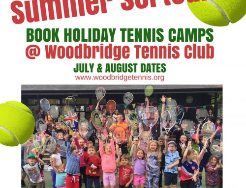 Summer Junior Tennis Camps