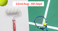 Courts closed for painting at Woodbridge Tennis Club