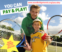 Pay and Play at Woodbridge Tennis Club