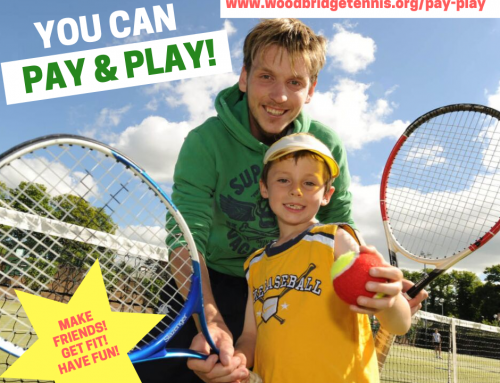 Pay & Play at Woodbridge Tennis Club