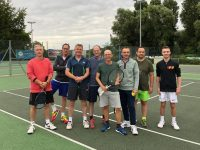 Woodbridge Tennis Club Men's 2nd team photo