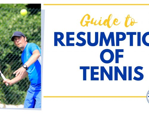 Resumption of Tennis at Woodbridge Tennis Club
