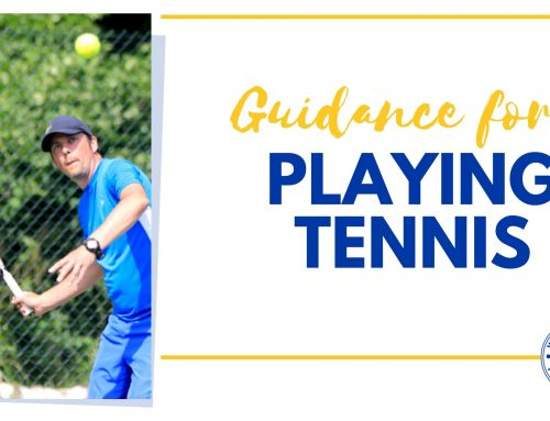 Current Guidance for Tennis
